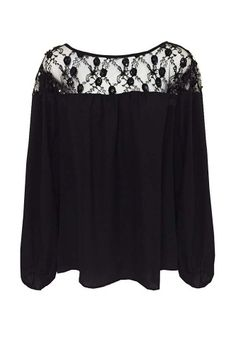 Icie Beaded Yoke Blouse from Single Dress