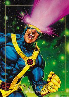 Marvel Masterpieces Series 1: Cyclops (1992) - Joe Jusko
