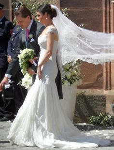 Count Charles Alexander von Faber-Castell married Melisa Eliyesil at the Martin-Luther-Church at Stein, Germany on 26 May 2012