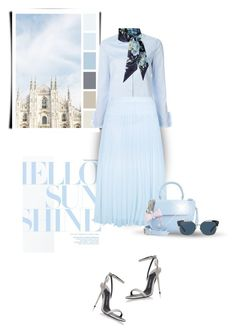 """""""blue"""" by bliznec ❤ liked on Polyvore featuring Gucci, New Look, Tom Ford, In Awe of You and Tory Burch"""