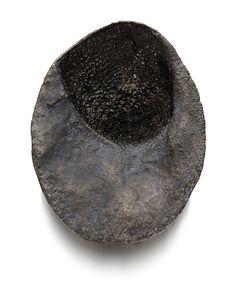 Corrado de Meo Brooch: Shadow area, 2014 Polystyrene, electroformed silver, oxide 10x7,5 cm