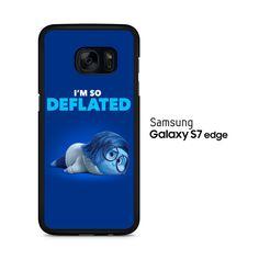 Sadness I'm So Deflated Samsung Galaxy S7 Edge Case