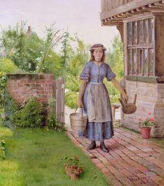 §-Art classique anglais de Georges Goodwin Kiburne  1839_1924