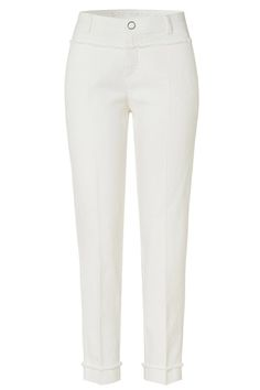 Rosner Damen Stoffhose May_390 Natur Weiss | SAILERstyle Trends, Elegant, Designer, Sweatpants, Fit, Fashion, Cloakroom Basin, Reach In Closet, Nature
