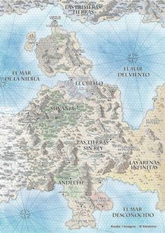 Foto: This is a new commissioned map: Eirendor, from the incoming spanish game: http://eirendor.es