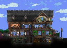 283 Best Video game images in 2019   Minecraft houses