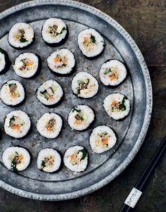 Kimbap eli korealainen sushi | Reseptit