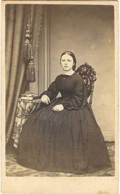 1860s Woman