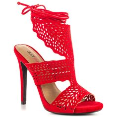 JF Lucilla - Red, JustFabulous, 54.99, FREE Shipping!
