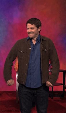 "Misha Collins is too cute---- ""I AM NEVER GETTING OVER HIS SMILE NOT NEVER EVER EVER"""