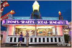 Engagement session inspired by The Notebook #concession #stand #fair #carnival