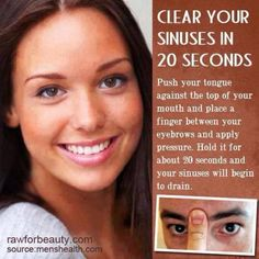 clear your sinus