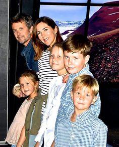 Danish royal family Aug. 8, 2017