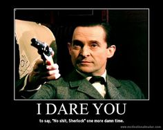 The Perfect Blog Title: My Jeremy Brett's Sherlock Holmes Demotivational Posters, Part 3