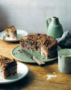 Dream cake with barley & berries recipe from The New Nordic by Simon Bajada | Cooked