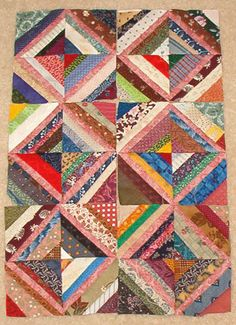 """My Earlier """"Small"""" Quilts! Scrappy Quilts, Baby Quilts, Bonnie Hunter, String Quilts, Diy Sewing Projects, Small Quilts, Quilt Patterns, Quilting Ideas, Machine Quilting"""