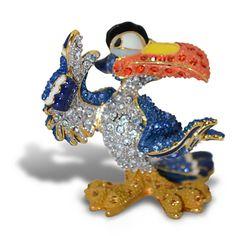 Jeweled The Lion King Figurine by Arribas -- Zazu | Figurines & Keepsakes |