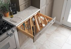 Clever drawer organizer from Martha