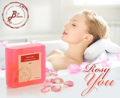 Have a pleasant bathing experience with our Rose 'Hand Made' soap having great aroma & moisturizing effects