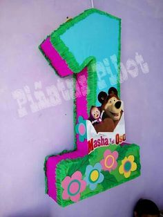 Piñata Masha y el oso. Bear Birthday, 2nd Birthday, Birthday Parties, Marsha And The Bear, Baby Shawer, Bear Party, Ideas Para Fiestas, Ursula, Party Themes