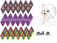 3 орнамента оплетения бусин | biser.info - всё о бисере и бисерном творчестве