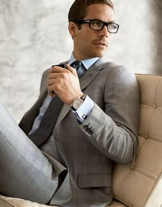 Suit up! Man. Fashion. Style. Classy. Grey. acheaphigh.