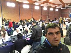 Ao fim de cerca de 15 dias de universidade online de Internet Marketing, mais de 100 pessoas estão em formação presencial