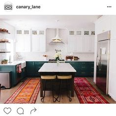I had to re-post this gorgeous kitchen. One day mine will look just like this  #westtexaseclectics