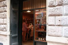 Tiny leather goods shop in Rome - Federico Polidori- truly remarkable find