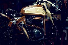 MATT BLACK CUSTOM YARD BUILT XV950