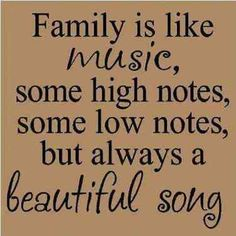 Family quotes and sayings new and best collection to share these funny, inspirational and love quotations about happy family love and life Life Quotes Love, Happy Quotes, Great Quotes, Quotes To Live By, Me Quotes, Inspirational Family Quotes, Inspirational Music, People Quotes, Famous Music Quotes