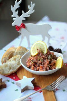 Przepis na Tatar z wędzonego łososia > iCook & Look