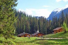 Die Hütten auf der Wasseralm © DAV Berchtesgaden