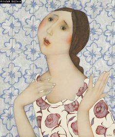 La chanteuse de Fado - 55 x 46 cm
