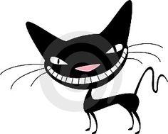 Naughty Black Cat