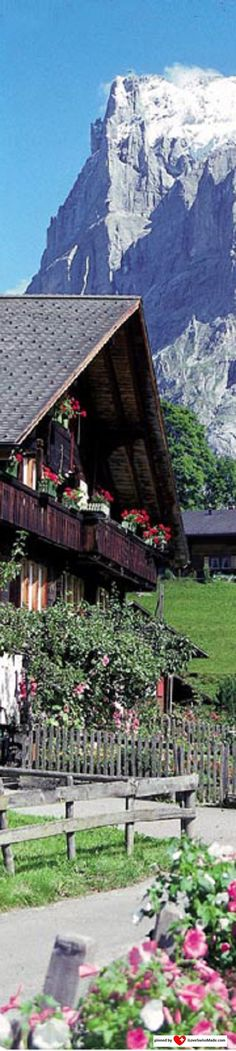 Grindelwald. Photo: Grindelwald Tourismus. Adapted to Pinterest by iLoveSwissMade