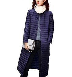 ELEAR 2016 Womens Fashion Winter Coat Ultra Light Weight Long Down Jacket >>> Read more  at the image link. (Note:Amazon affiliate link)