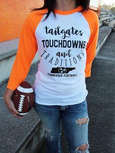 Tennessee Shirt UT Vols Football Shirt Tennessee Vols Tennessee Football, University Of Tennessee, Football Shirts, Football Stuff, Go Vols, We Wear, How To Wear, Graphic Sweatshirt, T Shirt