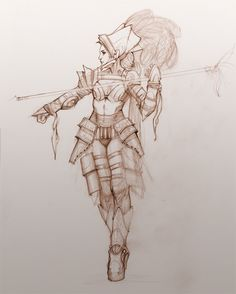 Gladiator Queen by ~your-fathers-belt on deviantART  ✤ || CHARACTER DESIGN REFERENCES | キャラクターデザイン •