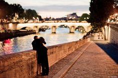 Emmener mon amoureux avec moi à Paris.