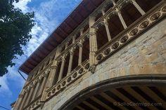 Castillo Palacio Real de Olite, #Navarra. Galería porticada.
