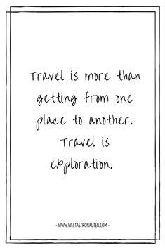 150+ Reisezitate für die volle Ladung Reiseinspiration. Persönlich ausgewählt von uns für dich. Freu dich über eine riesige Ladung Reisezitate.   150+ Travelquotes in english and german <3