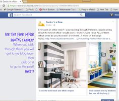 How to set up the carousel on your Facebook posts #bloggingtips www.ducksnarow.com
