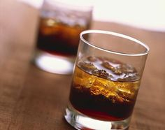 A cocktail by the name of Soul Kiss. This is made with vodka, Kahlua and coffee liqueur.