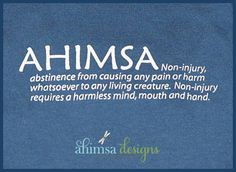 About Ahimsa Designs