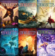 The Unwanteds series, by Lisa McMann. There will be seven books total.