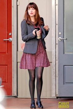 Anastasia Steele ugh I want this outfit. All of it.
