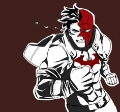 Batfamily Fight Club: Red Hood - http://inkydandy.tumblr.com/