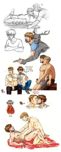Sketchdump: Hannigram again by Ita-chaaan on deviantART