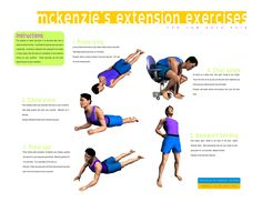 mckenzie exercises for low back pain - Google Search